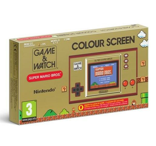 Bild zu Retrokonsole Nintendo Game & Watch Super Mario Bros. ab 37,81€ (VG: 44,99€)
