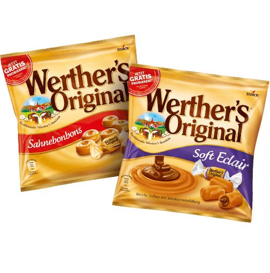 Bild zu Diverse Werther's Original Produkte dank Erstattung kostenlos testen