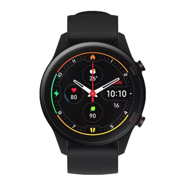 Bild zu Xiaomi Mi Watch schwarz oder blau (1.39″ OLED, BT 5.0, Herzfrequenz- und SpO2-Messung, GPS, NFC, 420mAh / 16Tage Akku) inSchwarz oder Navy Blau ab 90€ (VG: 125,93€)