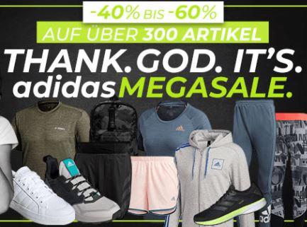 Bild zu Geomix: adidas Megasale mit 40% – 60% Rabatt auf über 300 Artikel