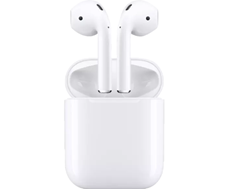 APPLE AirPods mit Ladecase (2 Generation), In-ear True-Wireless-Kopfhörer Bluetooth Weiß True-Wireles[...]