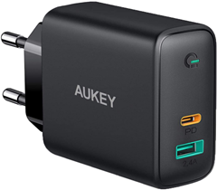 AUKEY USB C Ladegerät 60W Power Delivery, USB-C Amazon de Elektronik(1)