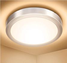 Bild zu Elfeland LED-Deckenleuchte (Warmweiß, 3000K, 18W, 1700lm, IP54, Ø23cm, A+) für 9,99€