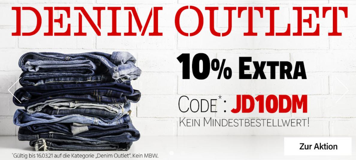 Bild zu Jeans Direct: 10% Extra-Rabatt auf ausgewählte Jeans (Ohne MBW)