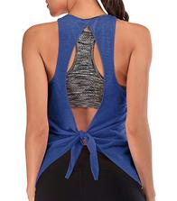 FAFAIR Sporttop Damen mit integriertem BH Sport Shirt Yoga Oberteil Fitness Gym Lauftop ärmelloses 1 [...]