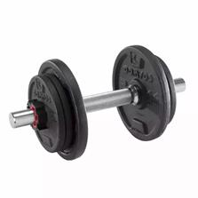 Bild zu Domyos 10-kg-Hantelset für 28,98€ inkl. Versand (VG: 43,89€)