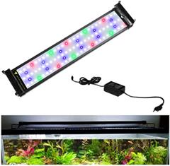 Hengda 7 5W Aquarium LED Beleuchtung RGB und Blaulicht Aufsetzleuchte Wasserdicht Lampe Lighting 30-5[...]