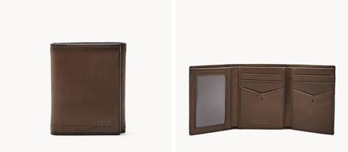Herren Geldbörse Allen - RFID Trifold - SML1550201 - Fossil