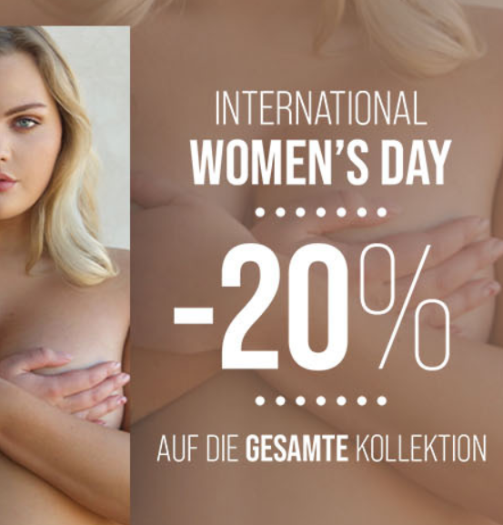 Bild zu Hunkemöller: 20% Rabatt auf die gesamte Kollektion zum Weltfrauentag