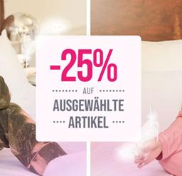 Bild zu Hunkemöller: 25% Rabatt auf ausgewählte Nachtwäsche