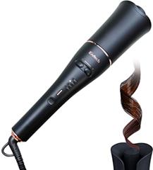 iGutech Automatischer Lockenstab,Hair Curler,Automatischer lockenstyler mit Keramikheizstab und Smart[...](1)