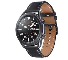 Bild zu SAMSUNG Galaxy Watch 3 45 mm Bluetooth Smartwatch in Mystic Black/Black + SAMSUNG SM-R180 Galaxy Buds Live für 266€ (VG: 334,80€)