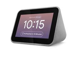 Bild zu Lenovo Smart Clock mit Google Assistant in Grau für 35,99€ (VG: 79,85€)