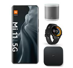 Bild zu [Knaller] Xiaomi Mi 11 5G 256GB für 99€ inkl. gratis Mi Box S + Mi Watch + Xiaomi Mi Smart Speaker im Vodafone Netz (18GB LTE, SMS und Sprachflat) für 29,99€/Monat