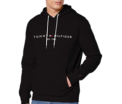 """Bild zu Tommy Hilfiger Herren ,,Tommy Logo"""" Hoody/Sweatshirt (XS bis 3XL) für 46,67€ (VG: 69,48€)"""