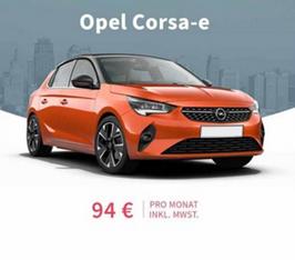 Bild zu Opel Corsa e Edition 5d 100kW Variante für 94€/Monat (10.000km/Jahr, 36 Monate Laufzeit, LF = 0,4)