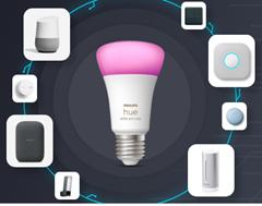 Bild zu Proshop: Philips Hue Angebote mit bis zu 42% Rabatt – z.B. Philips Hue White GU10-Lichtquelle – BT – 6er Pack für 74,49€ (VG: 101,97€)