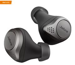 JABRA Elite 75t mit ANC, In-ear True Wireless Kopfhörer Bluetooth Titan Schwarz True Wireless Kopfhör[...]