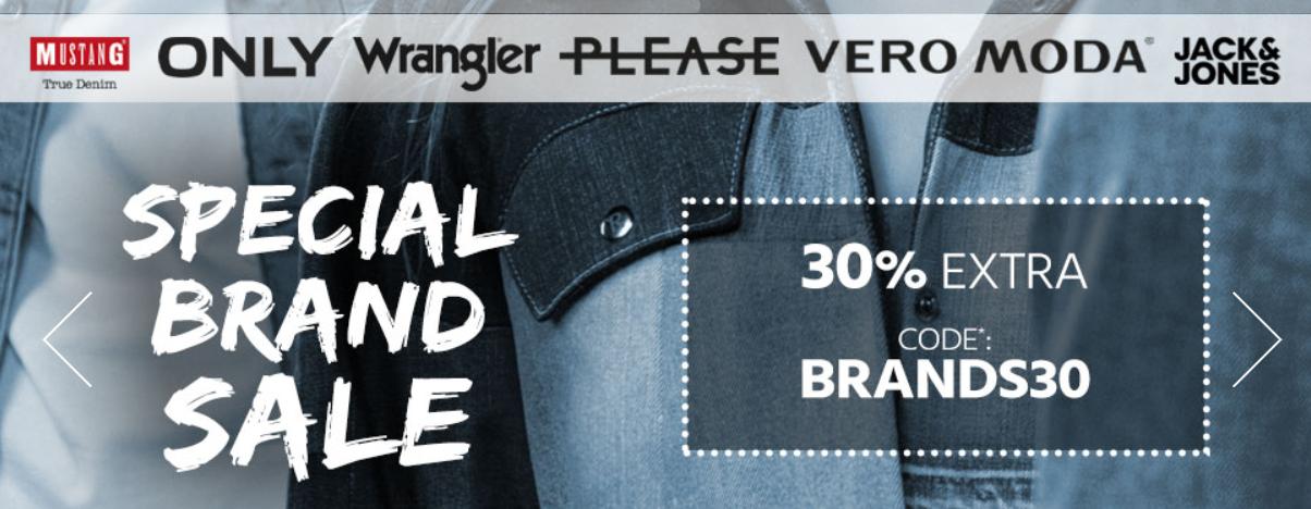 Bild zu Jeans Direct: 30% Extra-Rabatt auf ausgewählte Marken (MBW: 50€)