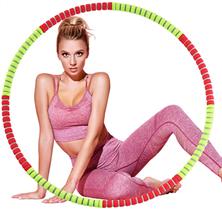 Bild zu Fitnessreifen/ Hula-Hoop-Reifen (92cm, Gewicht individuell einstellbar) für 20,99€