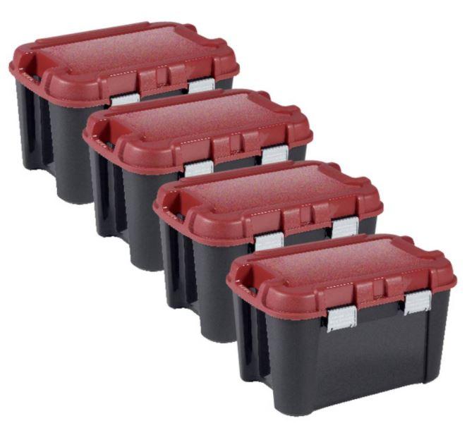Bild zu 4er Pack Allibert Keter Totem Aufbewahrungsbox | 60 Liter für 48,90€ (VG: 73,99€)