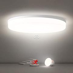 Bild zu Oraymin LED Deckenleuchte mit Bewegungsmelder (24W, 2400LM, IP54) für 27,99€