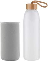 Life4u Borosilikat Trinkflasche Glas Wasserflasche Glasflasche mit Neoprenhülle BPA Frei 500 ml 1000 [...]