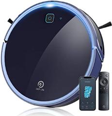 Bild zu OKP K7 Saug- und Wischroboter (2.200pa Saugleistung, 300ml Wassertank, Kompatibel mit Alexa, per App steuerbar) für 159,99€