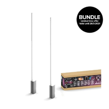 Philips Hue - 2x Signe Stehleuchte - White Color Ambiance - Bluetooth - Bundle
