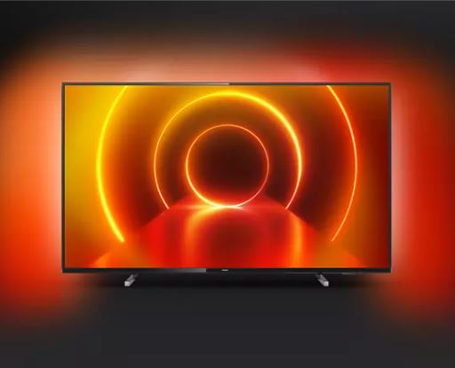 Bild zu PHILIPS 50PUS7805/12 LED TV (Flat, 50 Zoll / 126 cm, UHD 4K, SMART TV, Ambilight, Saphi Smart TV) ab 389€ (VG: 475,99€)