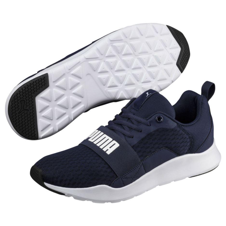 Bild zu PUMA Wired Sneaker in Blau (Gr.: 36 – 48,5) für 33,56€ (VG: 44,90€)