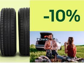 Bild zu [endet heute] eBay: 10% Rabatt auf Autoreifen & Kompletträder