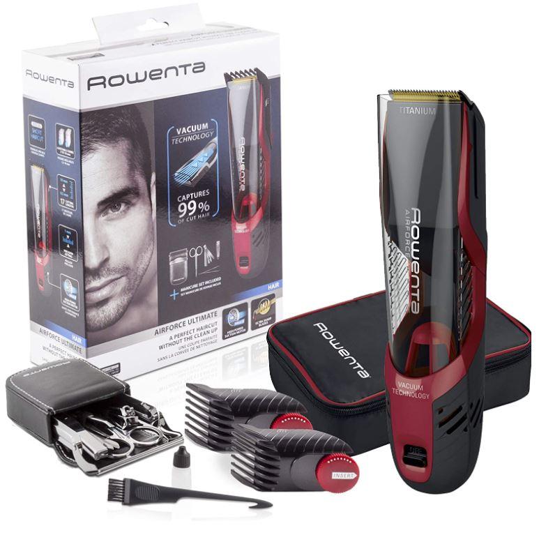 Bild zu Rowenta AIRFORCE ULTIMATE Vakuum-Haarschneider + Maniküreset Rasierer für 44,95€ (VG: 49,90€)