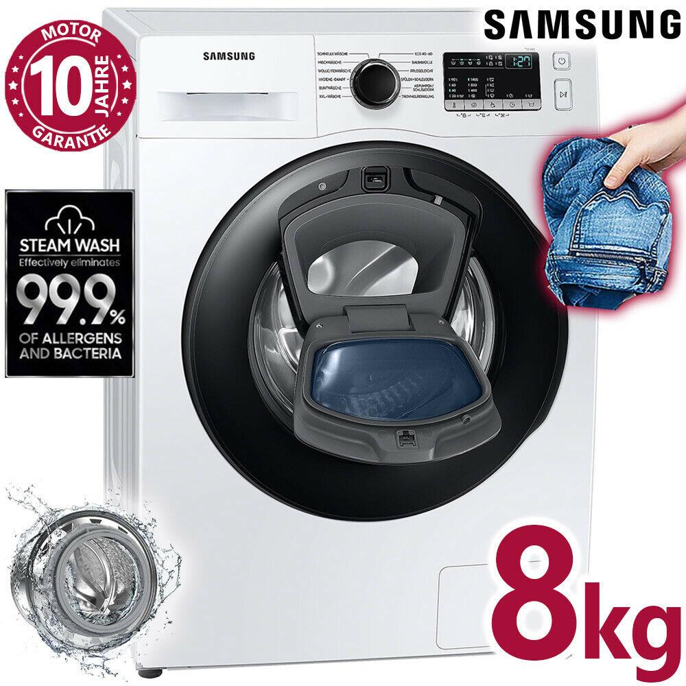 Bild zu 8 kg Waschmaschine Samsung WW81T4543AE/EG für 399€ (Vergleich: 499€)