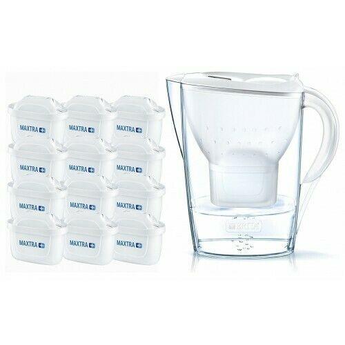 Bild zu Brita Marella Cool White Wasserfilter inklusive 12 Kartuschen für 44,99€ (Vergleich: 52,99€