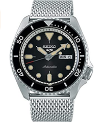 Seiko Men's Analogue Automatic Watch with Stainless Steel Strap SRPD73K1 Amazon co uk Watches
