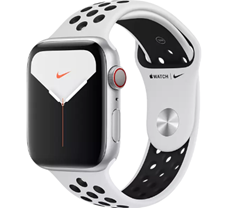 Bild zu APPLE Watch Nike Series 5 (GPS + Cellular) 44mm für 389€ (VG: 450,11€)