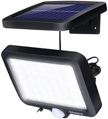 Bild zu Elfeland Solarlampe für Außen (IP67, 350lm, 56 LEDs, A++) für 8,44€