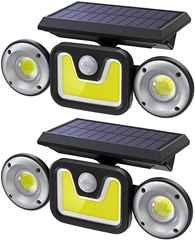 Bild zu Solarlampen für Außen mit Bewegungsmelder für 25,90€