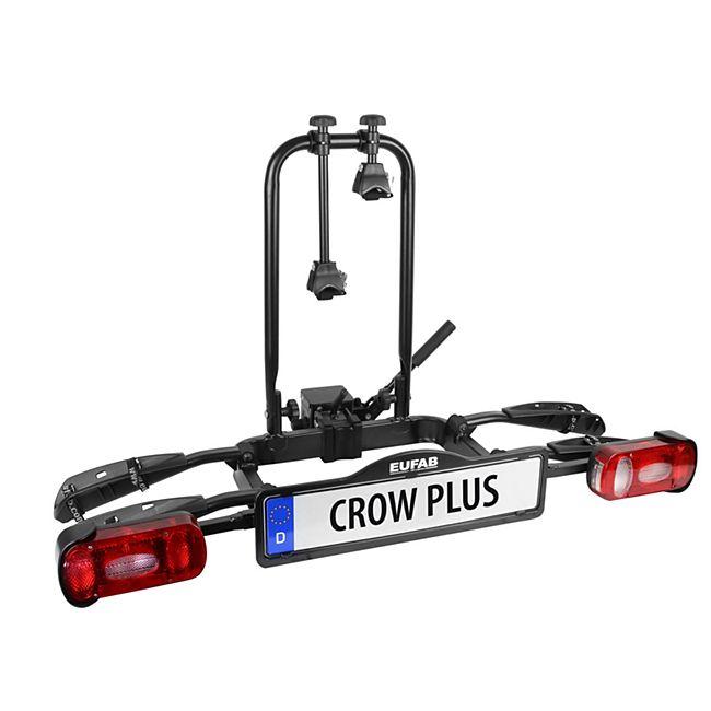 Bild zu Eufab Crow Plus Fahrradträger für 2 Fahrräder für 194,99€ (Vergleich: 230,50€)