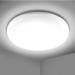 Bild zu Elfeland LED-Deckenleuchte (Kaltweiß, 5000K, 24W, 2200lm, IP54) für 11,93€