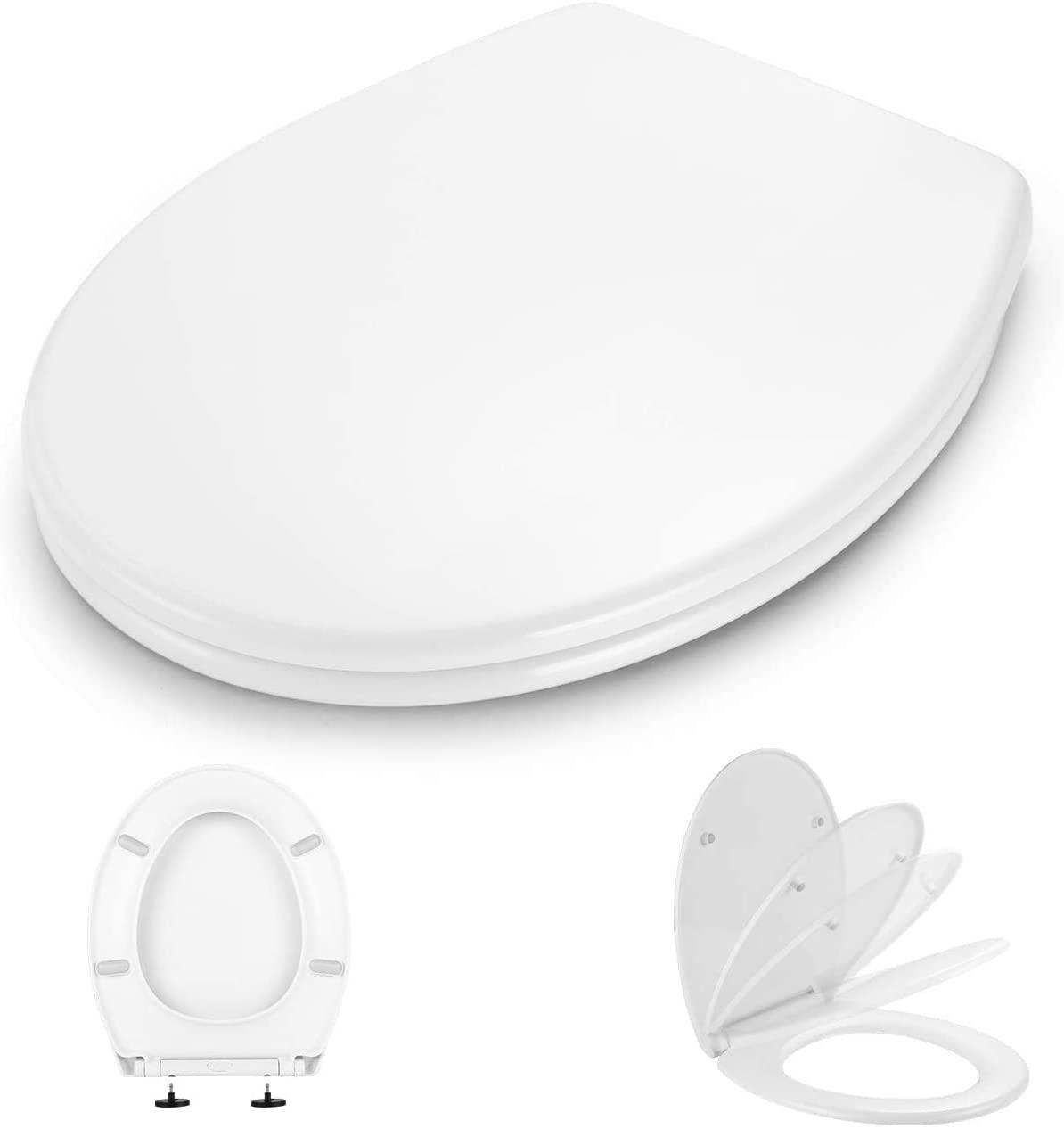 Bild zu [beendet] Dalmo O-Form Toilettensitz mit Soft Close Absenkung und Quick Release für 7,59€