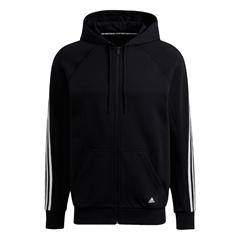 adidas Kapuzenjacke Sport BD Must Haves schwarz weiß - Fussball Shop