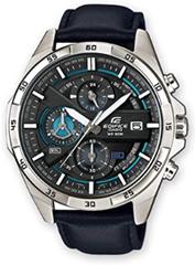 Bild zu Amazon.es: CASIO EDIFICE Herrenchronograph EFR-556L-1AVUEF (49 mm, Edelstahl, Lederarmband, Stoppfunktion, Datumsanzeige, bis 10 bar) für 81,56€ (Vergleich: 99€)