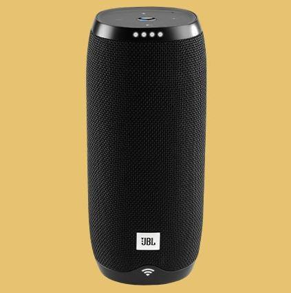 Bild zu JBL Link 20 Multi-Room Lautsprecher mit WLAN und Bluetooth ( Google Assistant, Chromecast, IPX7, portabel – 10h Laufzeit ) für 59,90€ (VG: 74,90€)