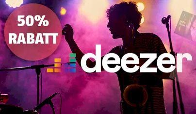 Bild zu [endet heute] Deezer Premium 24 Monate für im Schnitt 4,99€/Monat (anstatt 9,99€/Monat)