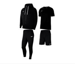 Bild zu Nike Freizeitset Team Park 20 (Shirt, Shorts, Jacke, Hose) für 89,95€ inkl. Versand (VG: 108,70€)