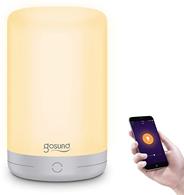 Gosund Smart Nachttischlampe, Smart Home Alexa Tischlampe Kompatibel mit Alexa und Google Home, LED-T[...]