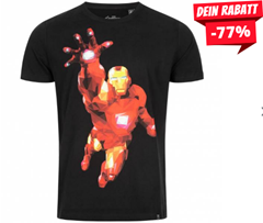 GOZOO x Marvel Iron Man Herren T-Shirt GZ-2-AVG-115-M-B-1