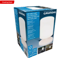 Bild zu GRUNDIG Outdoor Tischlampe für 9,99€ inkl. Versand (VG: 19€)